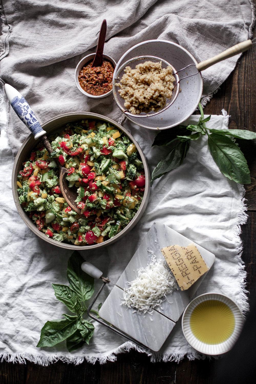 sun dried tomato & basil pesto veggie quinoa salad (2 of 1).jpg