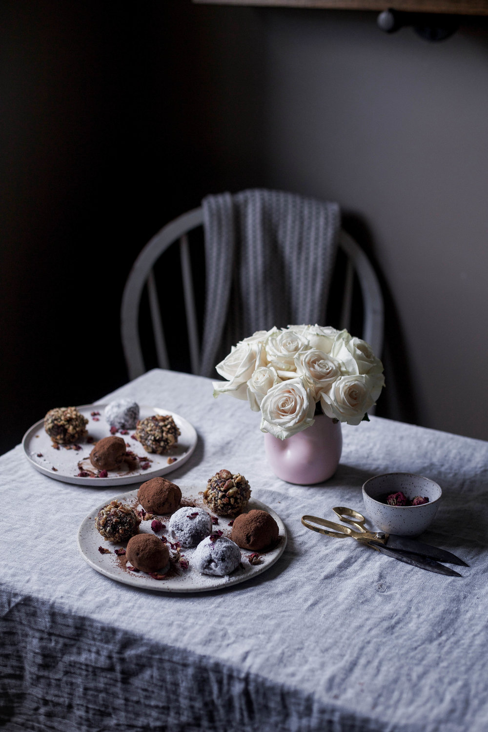 raspberry filled dark chocolate truffles coated three ways (41 of 1).jpg