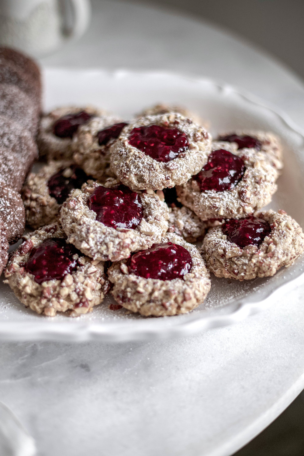 classic christmas cookies; jam thumbprints, chewy gingergbread, buttery shortbread (19 of 1).jpg