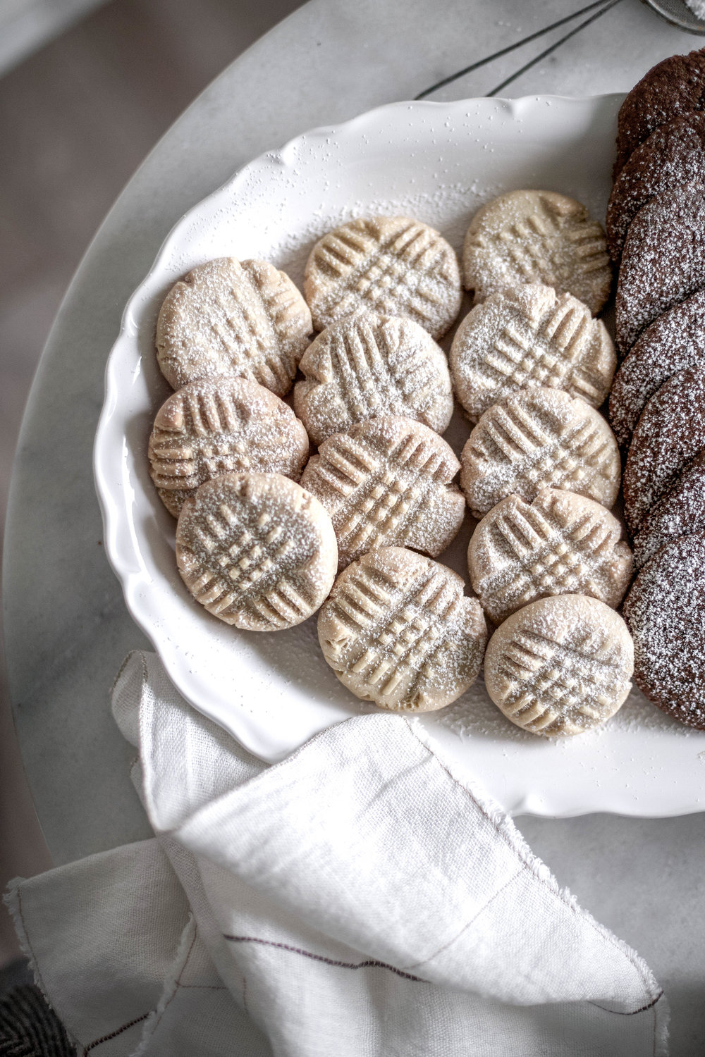 classic christmas cookies; jam thumbprints, chewy gingergbread, buttery shortbread (7 of 1).jpg