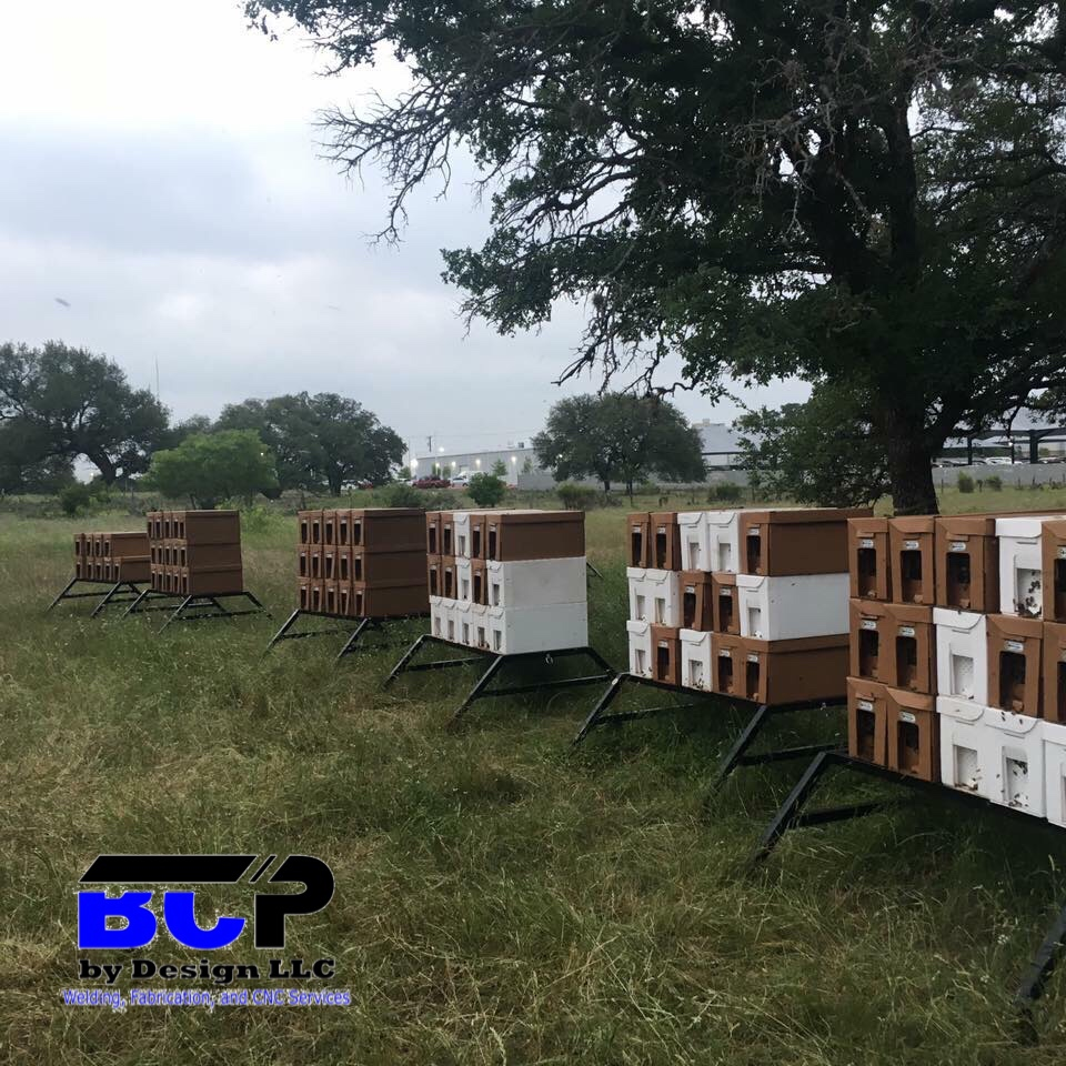 Metal Hive Stands | blue Collar Products