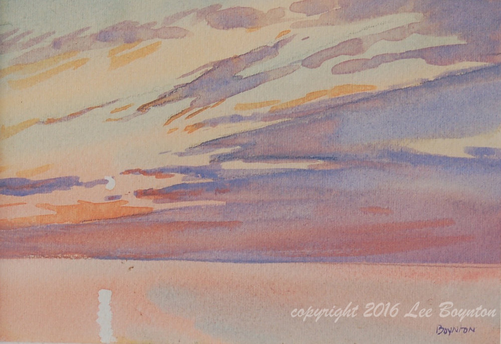 Sold- Sunrise Masterpiece, 5x7