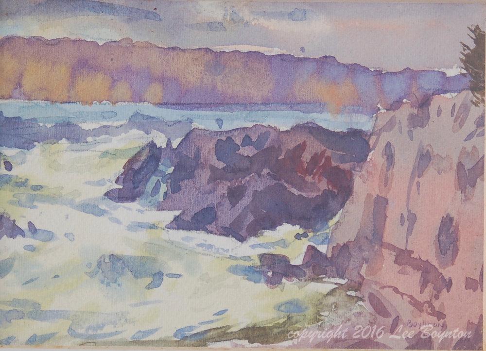 Potomac Cliffs, 5x7