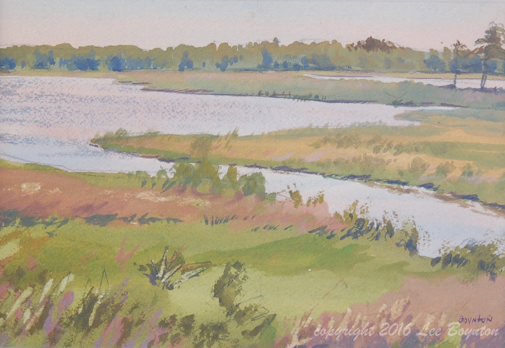 Connecticut Marsh, 7x10