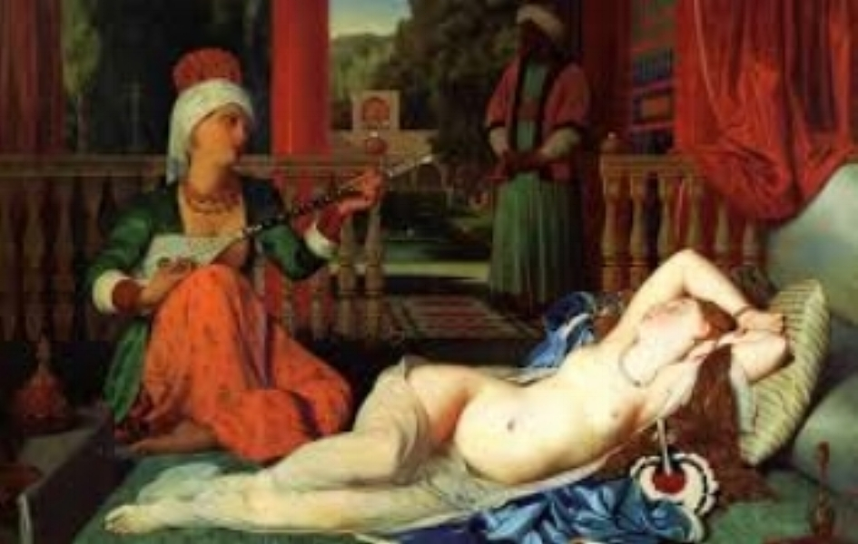Ingres: Odalisque with a Slave - 1839