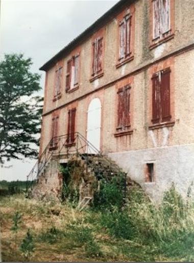 Chateau de la Vinouse 2004  - Before