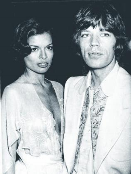 Mick and Bianca Jagger, the 70's                                        The Daily Mail