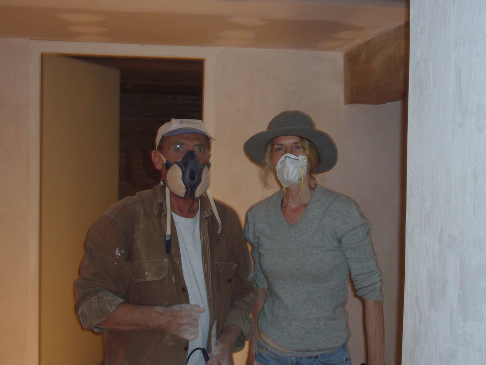 Mister BRUNI AND ME SURVIVING THE CEMENT DUST!