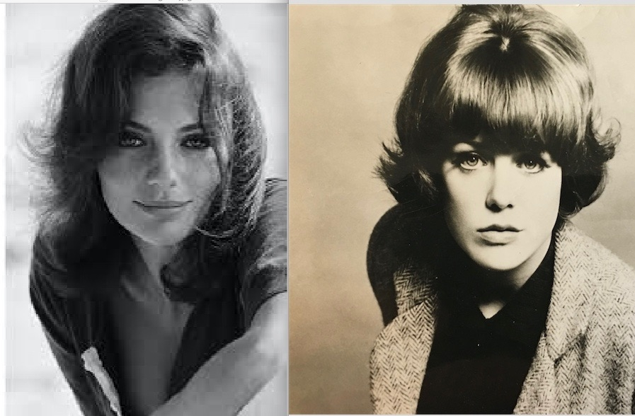 JAQUELINE BISSET AND ME IN THE 60'S