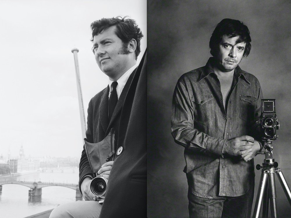 Photographers TERENCE DONAVAN ...AND DAVID BAILEY