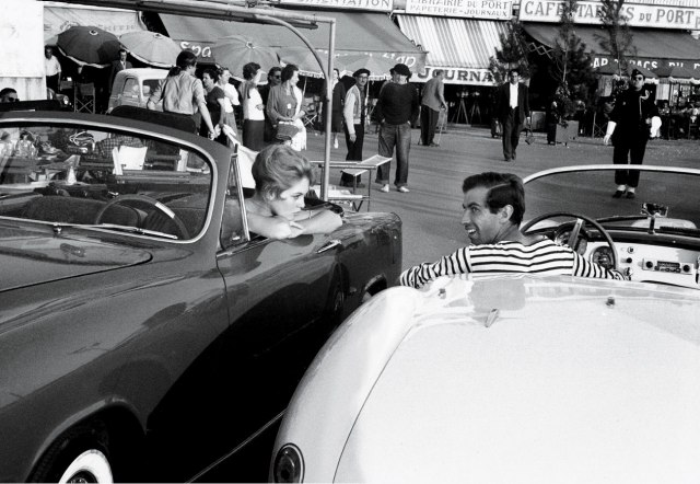 BARDOT AND ROGER VADIM IN ST TROPEZ