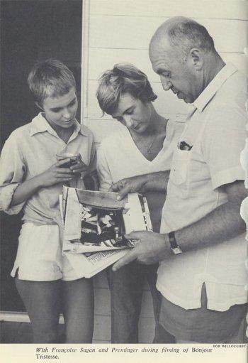 SEBERG, SAGAN AND DIRECTOR OTTO PREMMINGER