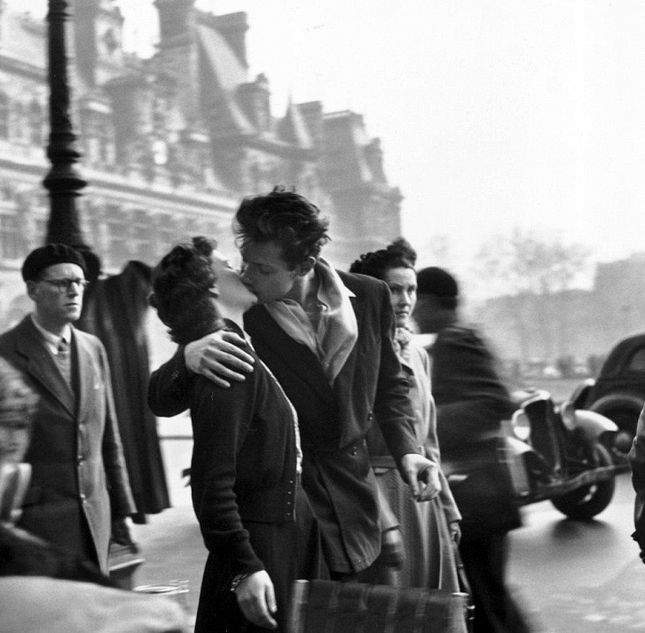 Both pictures Doisneau