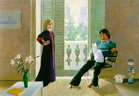 OZZIE CLARKE AND CELIA BIRTWELL - Hockney