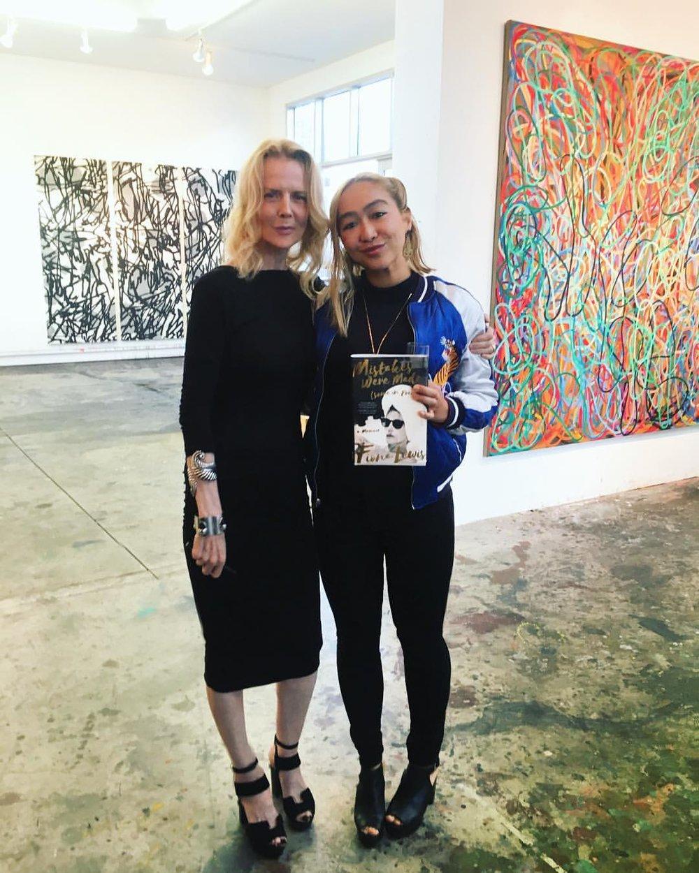 Fiona Lewis & Mel Blanchard Gong