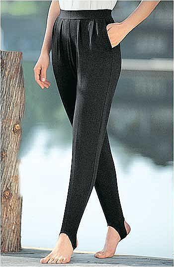 THE 60'S LATEST STIRRUP PANTS