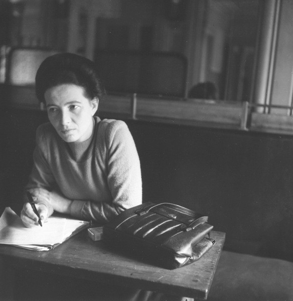 THE WRITER ( AND FEMINIST) SIMONE DE BEAUVOIR