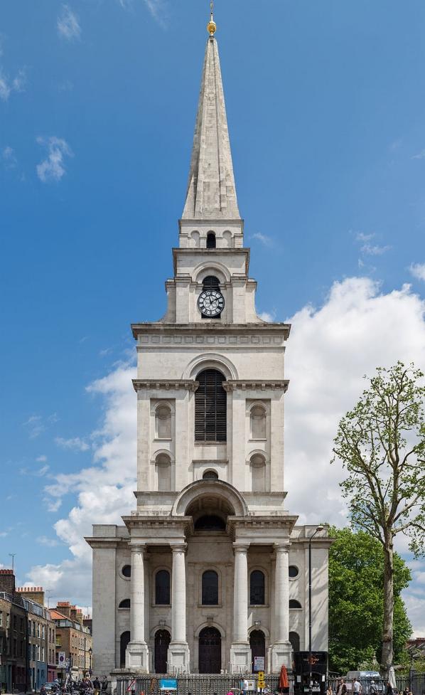 CHRIST'S CHURCH IN SPITALFIELDS, LONDON