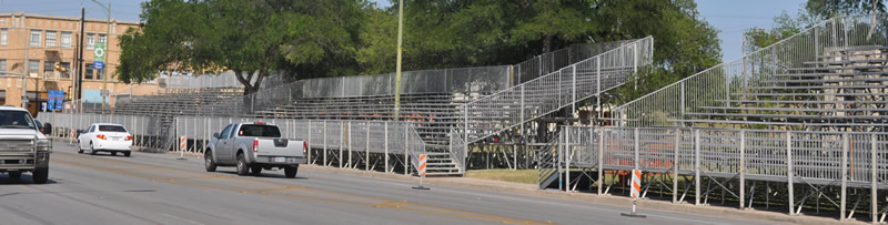 Elevated Aluminum Bleacher Seating