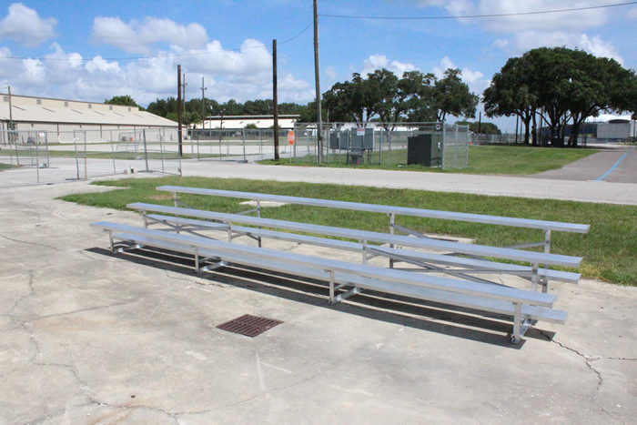 3 Row Bleacher Rental