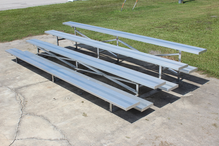 4 Row Bleacher Rental