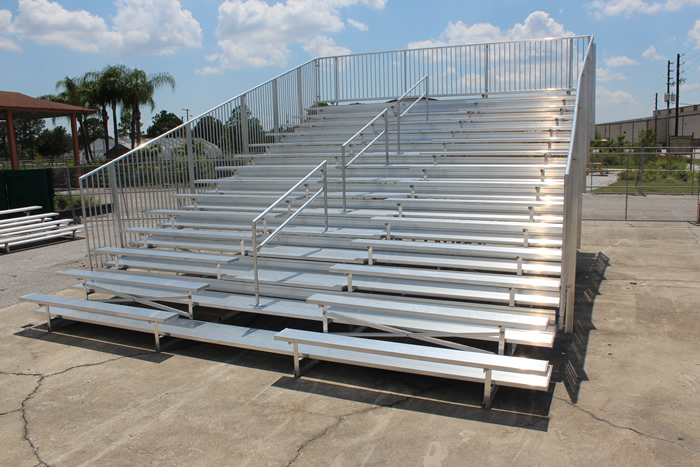 15 Row Bleacher Rental