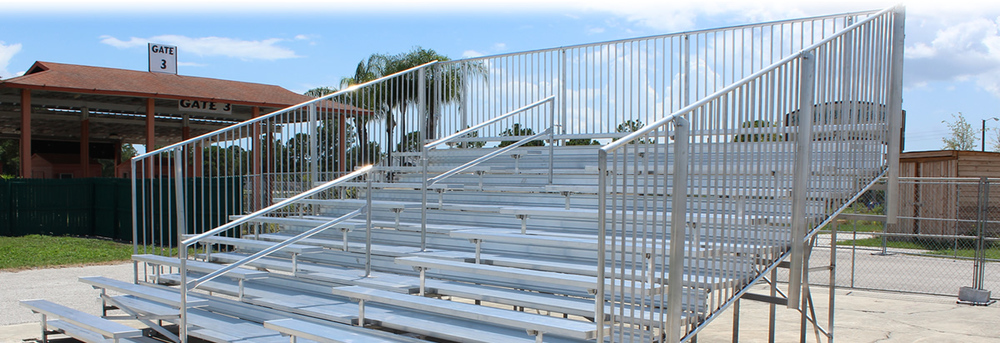 9 Row Bleacher Rental