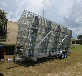 Towable Portable Bleachers