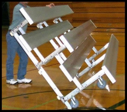 Tip and Roll Transportable Bleachers