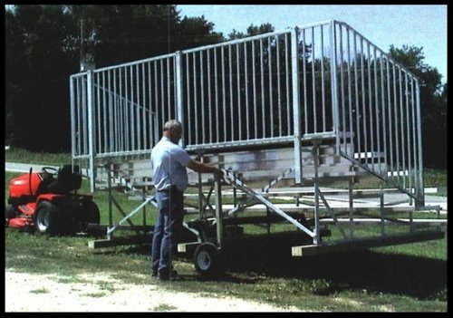 Transportable Bleachers Options
