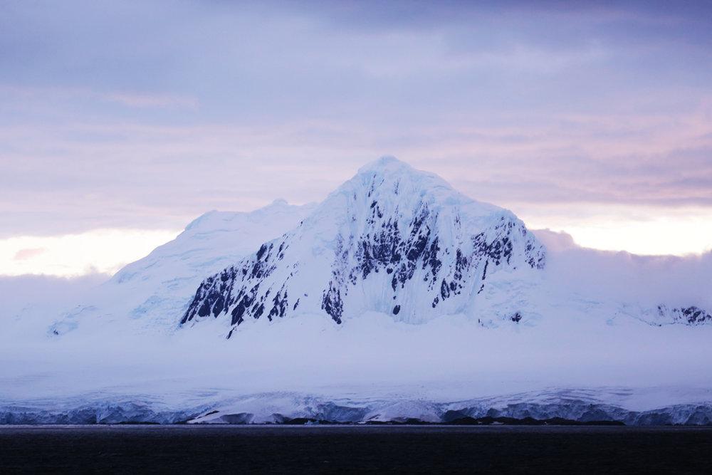 Mt. William glows in the pre-dawn light.