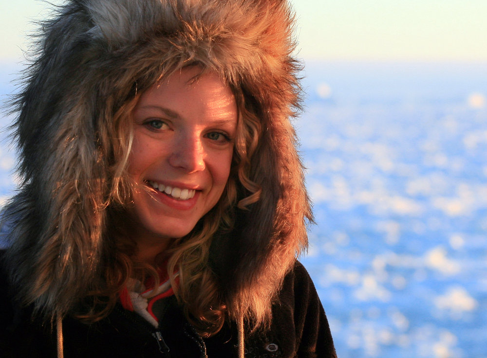 Zena Cardman conducted research with the Palmer LTER group in the West Antarctic Peninsula in January of 2009  | Photo by Kuan Huang