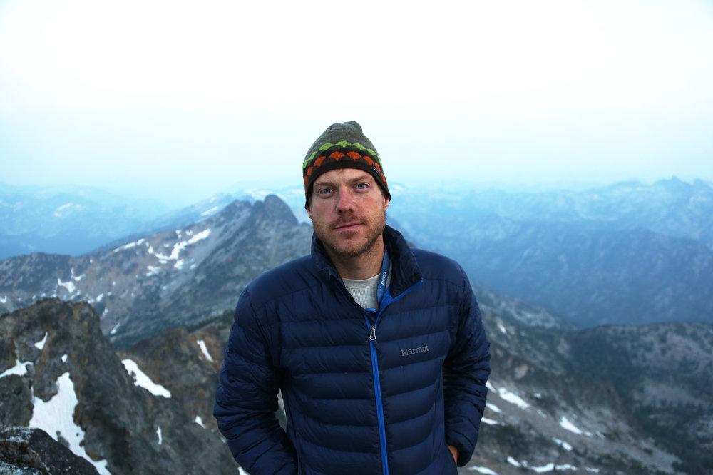 Jon on the summit of Trapper Peak.