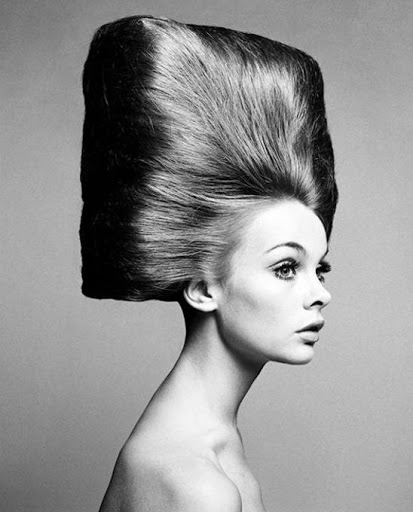 Photo by Richard Avedon, Hair by  Ara Gallant
