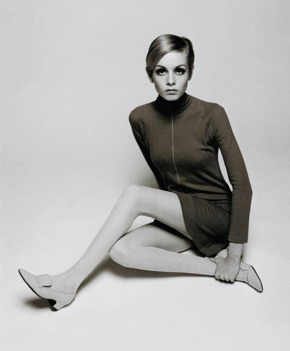 Twiggy photographed by Barry Lategan in 1966