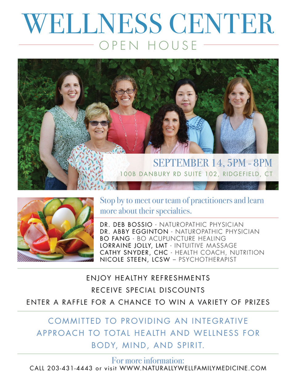 Wellness Open House, Naturally Well Family Medicine