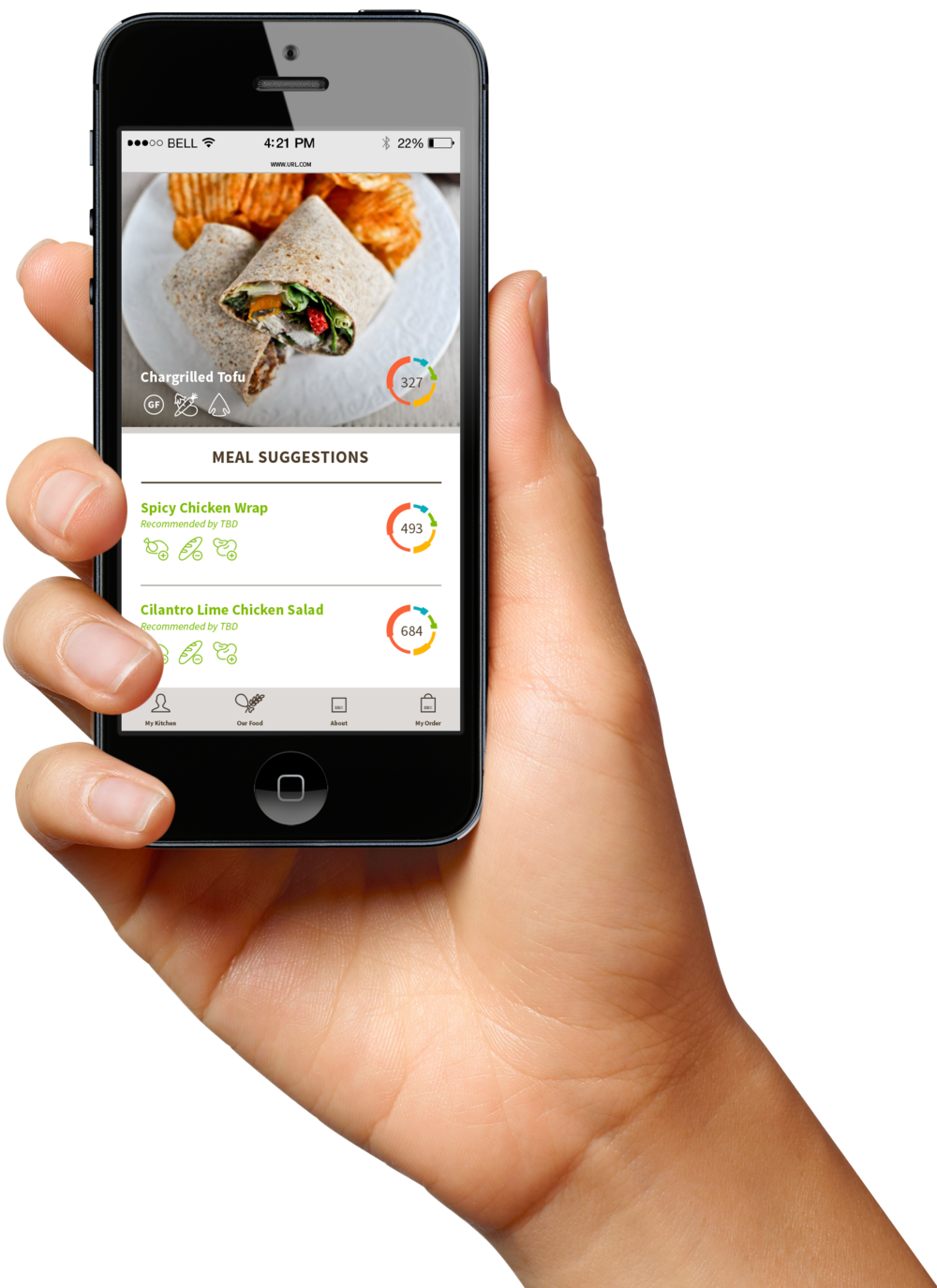 We collaborated with a visionary entrepreneur to develop a new app-driven restaurant concept that strives to help people truly eat more healthily and better match specific dietary needs in the quick-serve context.