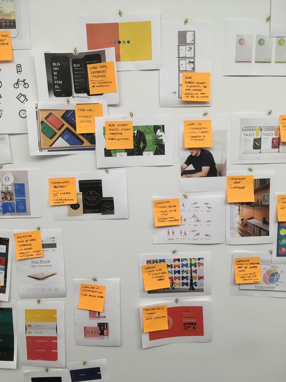 We use a range of tools, including image benchmarking, to help teams hone in on visual, verbal, tonal and conceptual ideas to drive projects forward.