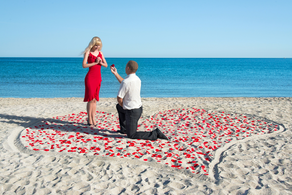 propose in paradise Total Travel Destinations