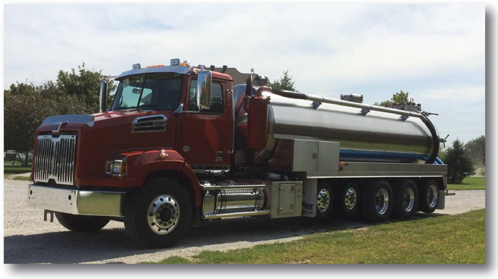 At Omaha Pumping we pride ourselves on our equipment. Our trucks are capable of removing anywhere from 2000 to 4500 gallons per load.
