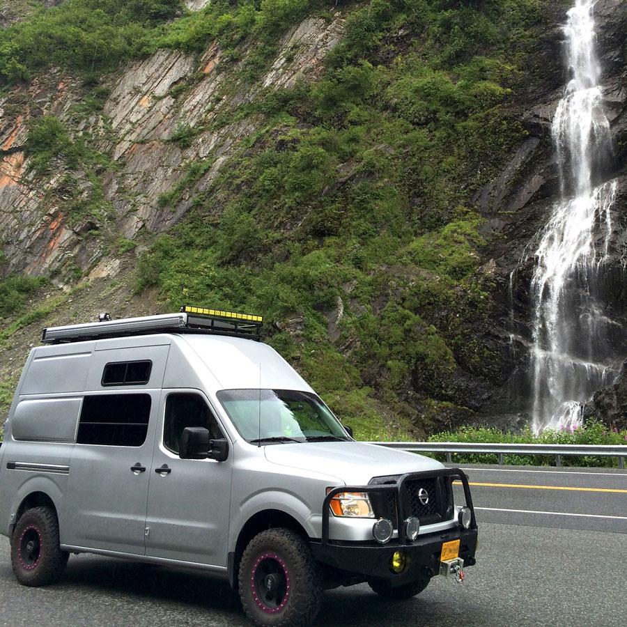 Flare Set For Nissan NV 146 Wheelbase Cargo Van