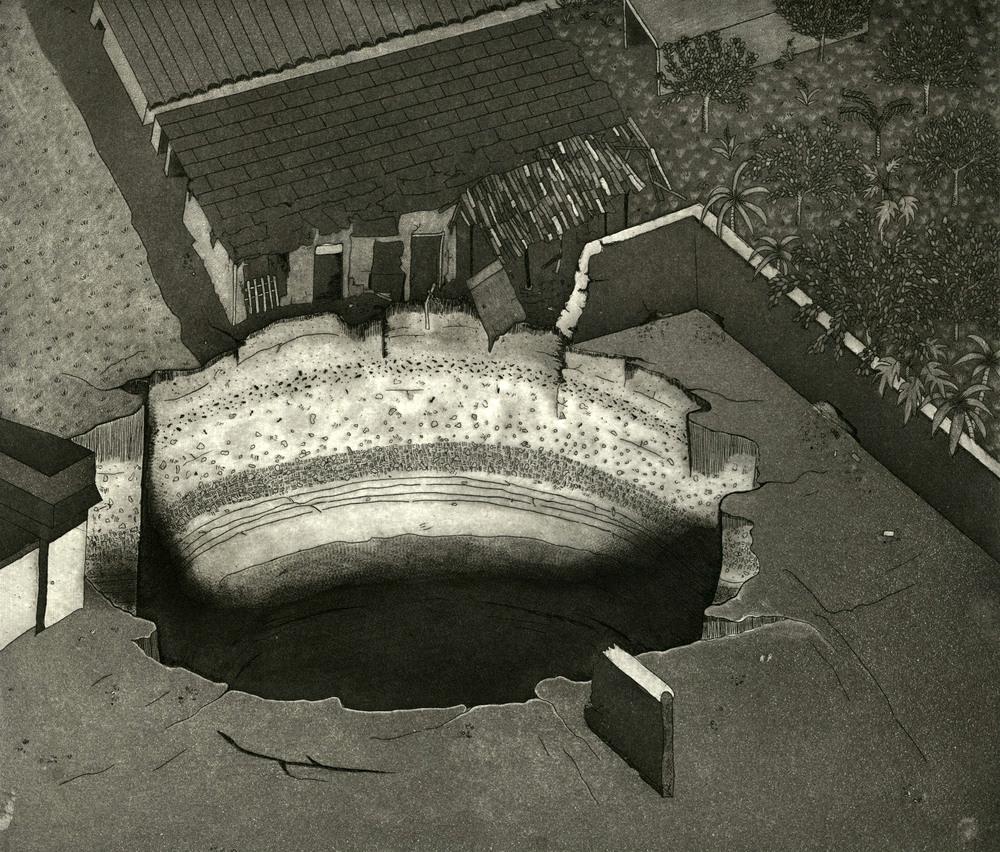 sinkhole #1, 2014
