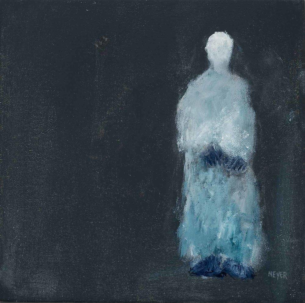 """G6 Jeanie Neyer, Lost #5 2016 Acrylic 10"""" x 10"""""""