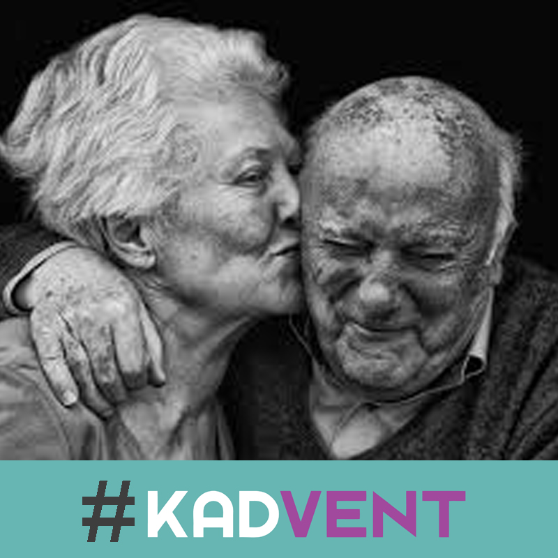 Let your husband or wife know what you most look forward to about growing old together.