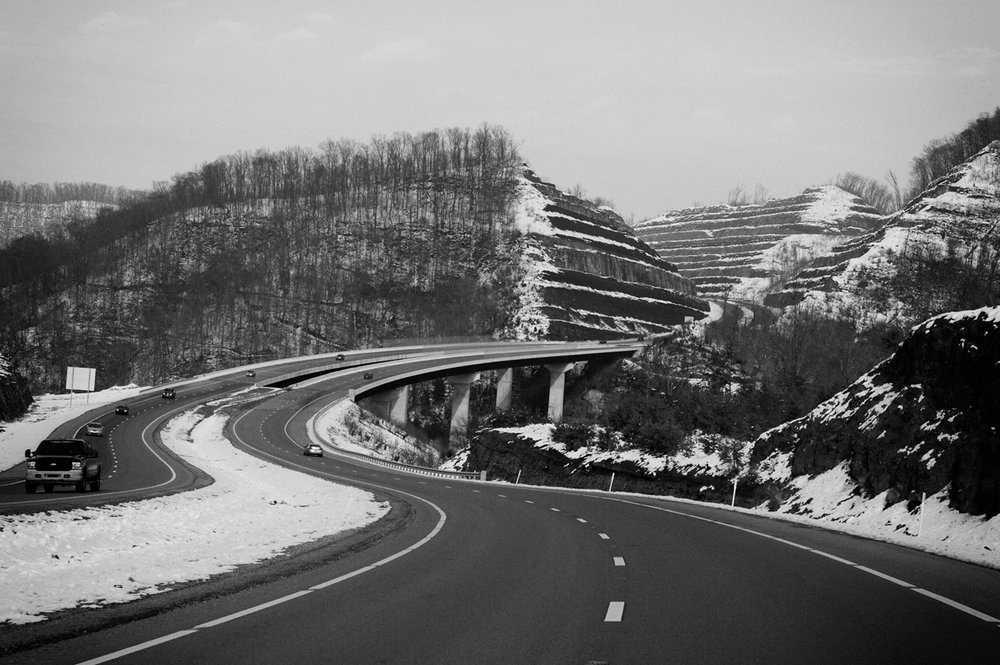 US 119, Pike County, Kentucky. December 2009.