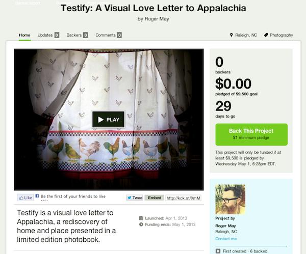 Testify Kickstarter