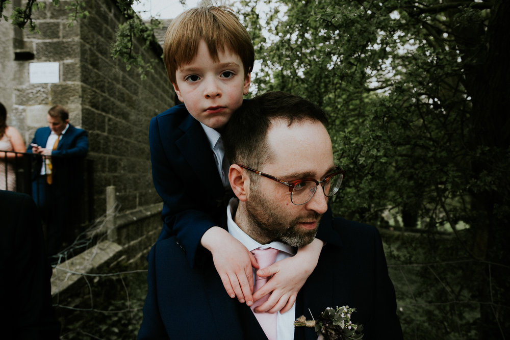 Leeds based wedding photographer not trad