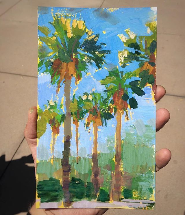 Palm Trees - Sold
