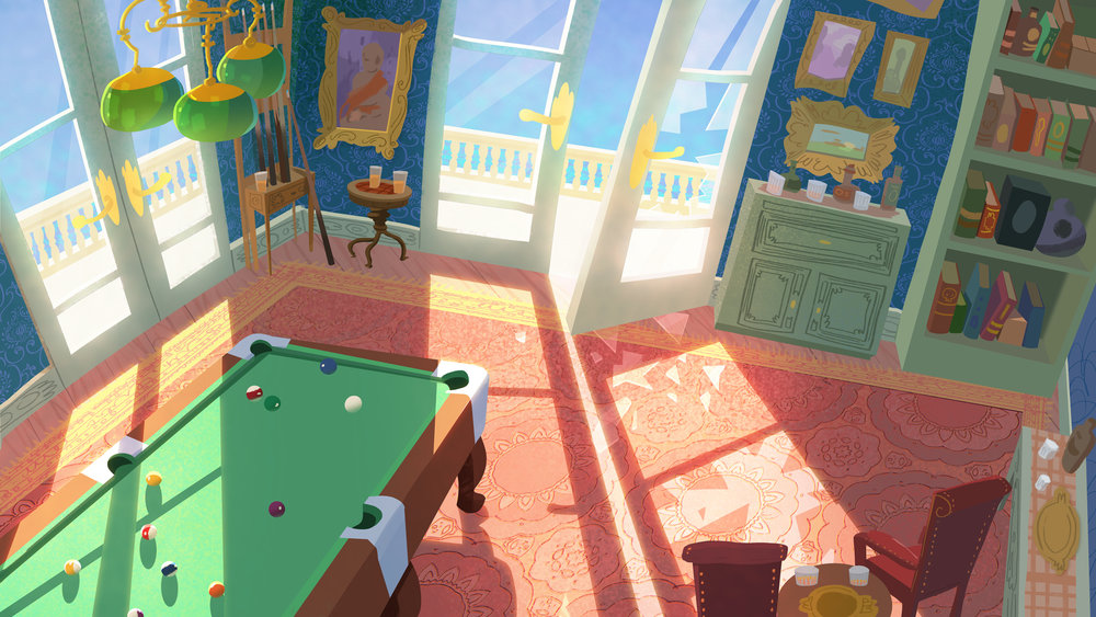 Pool Room - Personal Painting