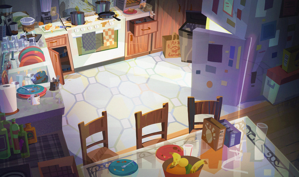 Not My Kitchen - Personal Painting